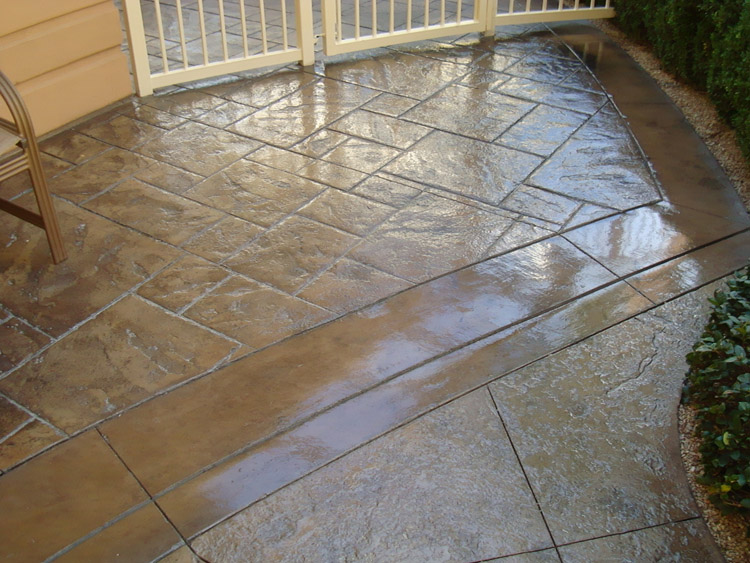 Stamped Concrete Floor Finishes : Css emulsion™ concentrated concrete sealer