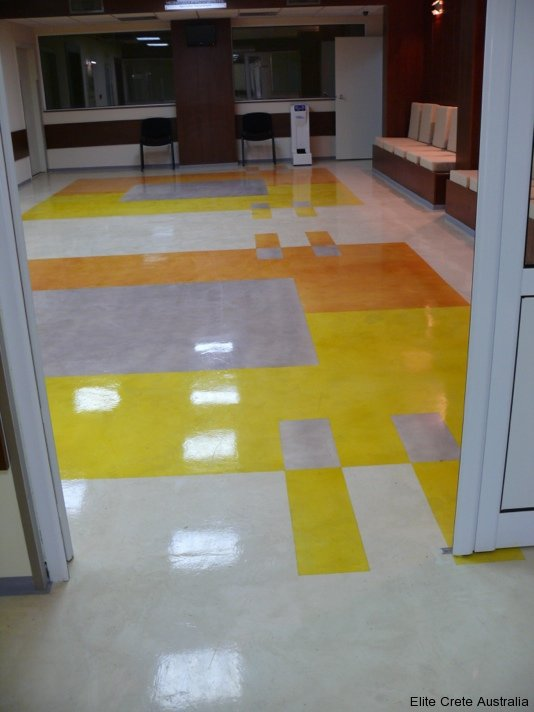Custom Seamless Floor Built Amp Specified For A Private Hospital