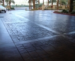 exterior decorative concrete finish