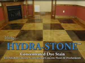 concentrated concrete dye