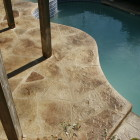 Beautiful Slip & UV Resistant Concrete Pool Decks