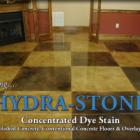 HYDRA-STONE™ Dye Stain