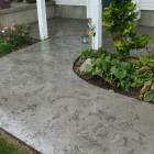 Textured Concrete Restoration- Slate Trowel Down