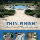 THIN-FINISH™ Premixed Polymer Modified Concrete Overlay