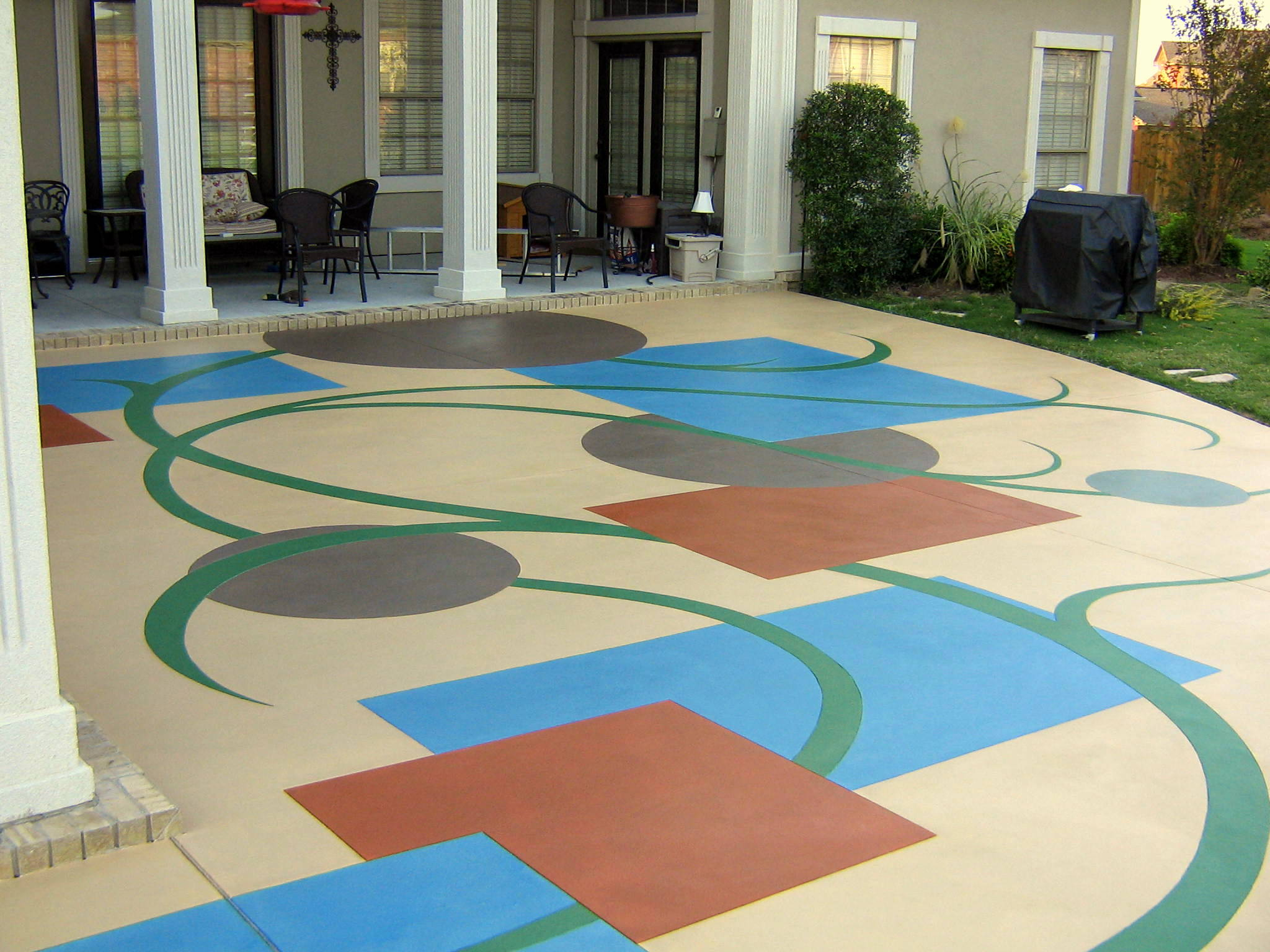 Awesome Effective And Simple Way Of Maintaining Your Decorative Concrete Photo Gallery